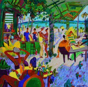 Bar Playa en Juan Dolio
